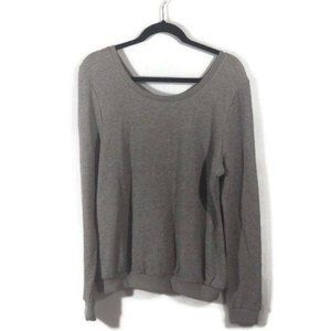 Forever 21 Grey Black Pullover Sweater Shirt NWT